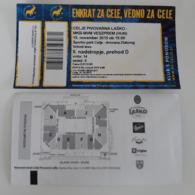 Handball Ticket Celje Pivovarna Lasko (Slovenia)  : VESZPREM ( Hungary) 15.11.2015 Champions League EHF - Match Tickets