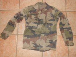 VESTE TREILLIS  Militaria Kaki Camouflage - Voir Les Dimensions - Uniformes