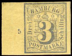 Hamburg. Michel #15a Var. Mint. OG. * - Hamburg