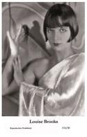 LOUISE BROOKS - Film Star Pin Up PHOTO POSTCARD - 155-30 Swiftsure Postcard - Artistas