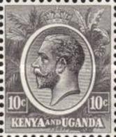 Used Kenya-and-Uganda - King George V -1927 - Stamps