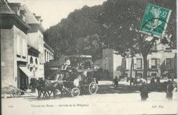 Uriage-les-Bains (38) - Arrivée De La Diligence - TRES BON ETAT - Uriage