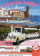 TICKET  LES PETITS TRAINS TOURISTIQUES De COLLIOURE - Titres De Transport