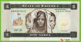 Voyo ERITREA 1 Nakfa 1997 P1 B101a AM UNC Education - Eritrea