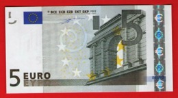 5 EURO M003 H6 SPAIN M003H6 DUISENBERG - V03402654133 UNC FDS NEUF - EURO