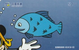 CHINA. DISNEY, COCA COLA. MICKEY MOUSE. XSBN2005-610(4-2). (140). - Rompecabezas