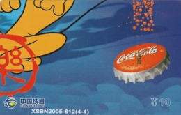 CHINA. DISNEY, COCA COLA. MICKEY MOUSE. XSBN2005-610(4-4). (141). - Rompecabezas