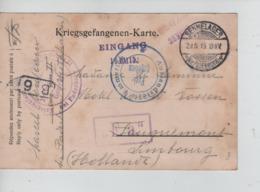 PR6981/ CP PDG-POW Sennelager 1915 Geprüft Paderborn > Hollande - WW I