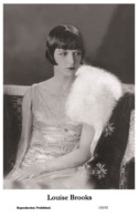 LOUISE BROOKS - Film Star Pin Up PHOTO POSTCARD - 155-53 Swiftsure Postcard - Artistas