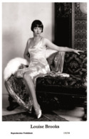 LOUISE BROOKS - Film Star Pin Up PHOTO POSTCARD - 155-54 Swiftsure Postcard - Artistas