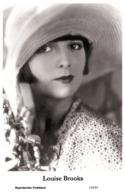 LOUISE BROOKS - Film Star Pin Up PHOTO POSTCARD - 155-55 Swiftsure Postcard - Artistas