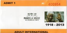TICKETS MANDELA HOUSE + TRANSPORT + APARTHEID MUSEAUM AFRIQUE DU SUD - Tickets D'entrée
