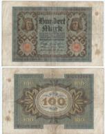 Alemania - Germany 100 Mark 1-11-1920 Pk 69 A Serie De 7 Dígitos, Letra De Fondo Roja Ref 51-5 - [ 3] 1918-1933 : Repubblica  Di Weimar