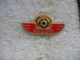 Pin's Embleme Des Outils FACOM. 75 Ans De FACOM (1918-1993) - Pin