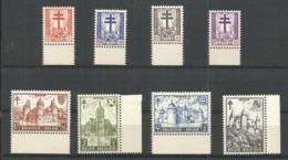 1951 - COB N° 868 à 875 ** (MNH) - IMPECCABLES - Bords De Feuilles - Belgien