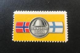 GERMANY. 1941. Norway, Norwegian Legion WW2 Against Bolshevisme. MNH OG ! RRR ! - Occupation 1938-45