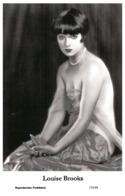 LOUISE BROOKS - Film Star Pin Up PHOTO POSTCARD - 155-49 Swiftsure Postcard - Artistas