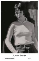 LOUISE BROOKS - Film Star Pin Up PHOTO POSTCARD - 155-51 Swiftsure Postcard - Artistas