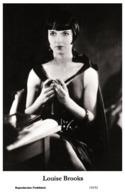 LOUISE BROOKS - Film Star Pin Up PHOTO POSTCARD - 155-52 Swiftsure Postcard - Artistas