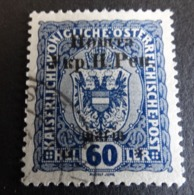 GENUINE Poland Western UKRAINE. 1919. Ovpt. Austria, 1st Stanislau Issue, 60 Sh. - Ukraine