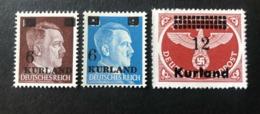 GERMANY. 1945. WW2 Occupation Of Latvia, KURLAND. MNH OG ! - Occupation 1938-45