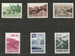 1953 - COB N° 918 à 923 ** (MNH) - IMPECCABLES - Belgien