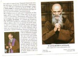 P. Guglielmo Gattiani (Fronte E Retro) - Santons