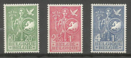 1953 - COB N° 927 à 929 ** (MNH) - IMPECCABLES - Belgien