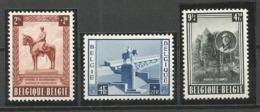 1954 - COB N° 938/940 ** (MNH) - Belgien