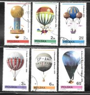 Poland 1981 SC# 2433-2438 - Used Stamps