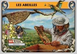 Niger, 2016. [nig16301] Bees (s\s+bl) - Abeilles