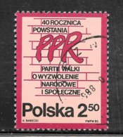 Poland 1982 SC# 2501 - Used Stamps
