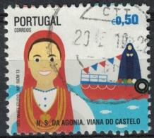 Portugal 2013 Oblitération Ronde Used Fêtes N.S. Agonia Viana Do Castelo - Usati