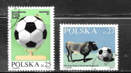Poland 1982 SC# 2521-2522 - Used Stamps