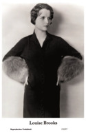 LOUISE BROOKS - Film Star Pin Up PHOTO POSTCARD - 155-37 Swiftsure Postcard - Artistas