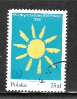 Poland 1986 SC# 2716 - Used Stamps