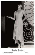 LOUISE BROOKS - Film Star Pin Up PHOTO POSTCARD - 155-39 Swiftsure Postcard - Artistas
