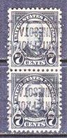 U.S. 559   Perf. 11   *  MINN.   1922-25  Issue - Precancels