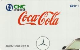 CHINA. COCA COLA. COCHE MERCEDES. ZGWTJT-2006-24(4-1). (179). - Rompecabezas