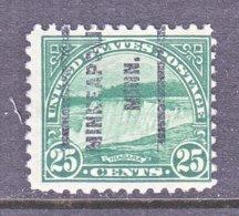 U.S. 568   Perf. 11   *  MINN.   1922-25  Issue - Precancels