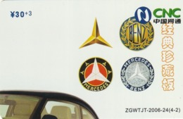 CHINA. COCA COLA. COCHE MERCEDES. ZGWTJT-2006-24(4-2). (180). - Rompecabezas