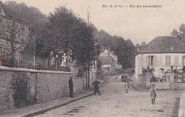 CPA : Buc  (78) Rue Des Lavandières   Animaation Enfants   Ed Leclercq - Buc