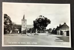 Gifford The Church And School Road - East Lothian
