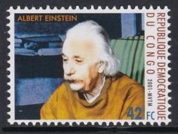 TIMBRE NEUF DE REP. DEM. DU CONGO - ALBERT EINSTEIN, PRIX NOBEL DE PHYSIQUE 1921 N° COB 1894 - Albert Einstein