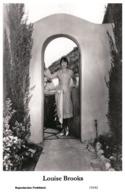 LOUISE BROOKS - Film Star Pin Up PHOTO POSTCARD - 155-42 Swiftsure Postcard - Artistas