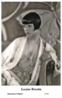 LOUISE BROOKS - Film Star Pin Up PHOTO POSTCARD - 155-44 Swiftsure Postcard - Artistas