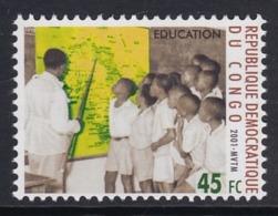 TIMBRE NEUF DE REP. DEM. DU CONGO - EDUCATION : SALLE DE CLASSE N° COB 1898 - Autres