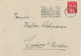 Heidelberg Saar Burg Komm 1934 - Allemagne