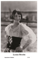 LOUISE BROOKS - Film Star Pin Up PHOTO POSTCARD - 155-26 Swiftsure Postcard - Artistas