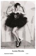 LOUISE BROOKS - Film Star Pin Up PHOTO POSTCARD - 155-28 Swiftsure Postcard - Artistas